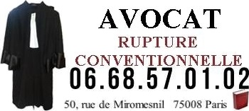 avocat rupture conventionnelle