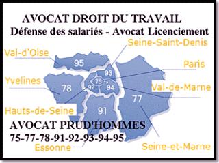 avocat specialisé droit du travail Versailles