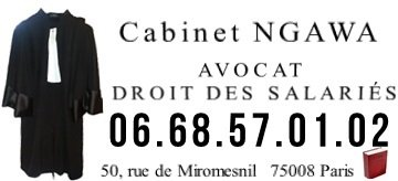 avocat contrat de travail clause de non concurrence