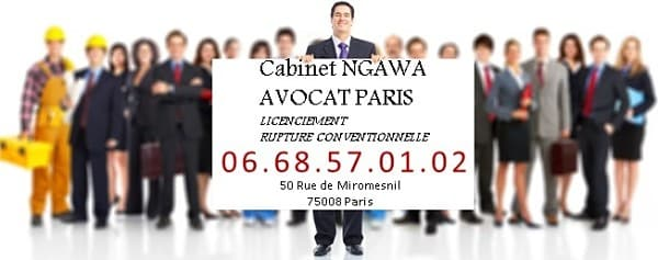 Avocat droit du travail paris; avocat licenciement à l'amiable;cabinet d'avocat paris