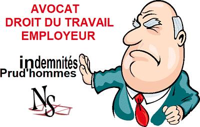 avocat droit du travail employeur