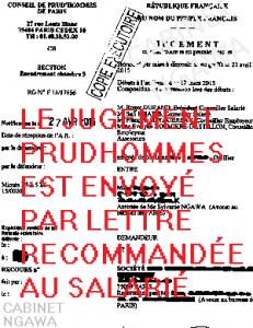 avocat prudhommes; avocat licenciement abusif; prud'hommes Paris