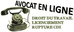 avocat en ligne; avocat spécialiste droit du travail paris