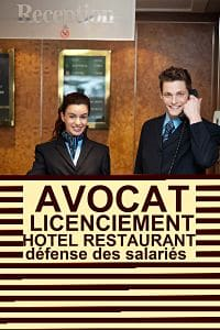 avocat hotellerie restauration paris