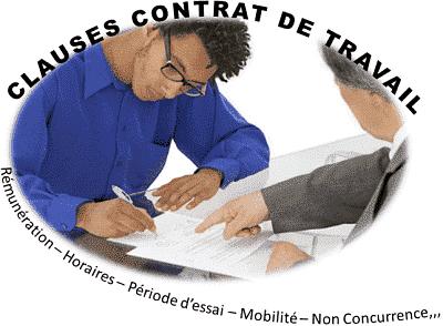 clause de non concurrence contrat de travail