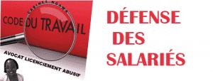 avocat spécialisé droit du travail paris