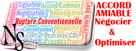 rupture conventionnelle amiable