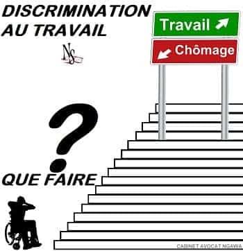 discrimination handicapé au travail