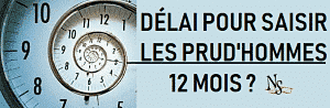 delai prudhomme;condamnation prudhomme paiement