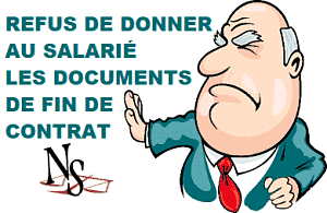 document fin de contrat