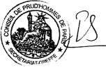 convocation conciliation conseil prudhommes paris